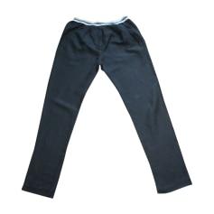 Straight Leg Pants ISABEL MARANT Black