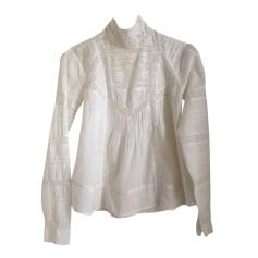 Blusa SOEUR Bianco, bianco sporco, ecru