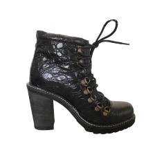 High Heel Ankle Boots DIESEL Black
