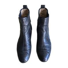 Flat Ankle Boots BALENCIAGA Black