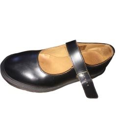 Sandales compensées DR. MARTENS Noir