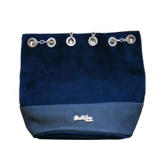 Leather Shoulder Bag PAUL & JOE SISTER Blue, navy, turquoise