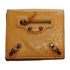 Wallet BALENCIAGA Yellow