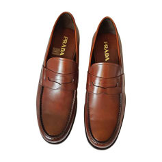 Mocassins PRADA Marron