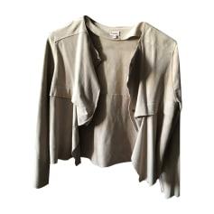 Zipped Jacket KENZO Beige, camel