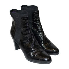 High Heel Ankle Boots SERGIO ROSSI Black