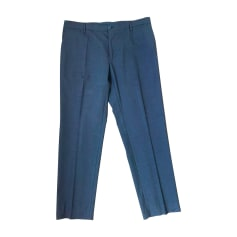 Pantalone dritto DOLCE & GABBANA Grigio, antracite