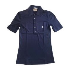 Polo COURRÈGES Blue, navy, turquoise