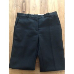 Pantalon slim, cigarette SANDRO Noir
