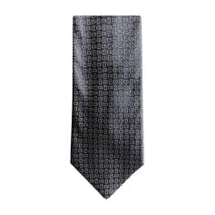 Cravate DIOR HOMME Gris, anthracite