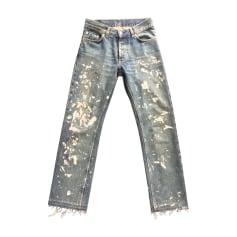 Straight Leg Jeans HELMUT LANG Blue, navy, turquoise