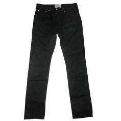 Jeans droit SANDRO Bleu, bleu marine, bleu turquoise