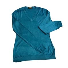 Pull ZILLI Bleu, bleu marine, bleu turquoise
