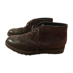Lace Up Shoes FRATELLI ROSSETTI Brown