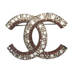 Brooch CHANEL Silver