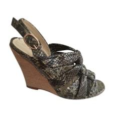 Wedge Sandals ALEXANDRE BIRMAN Khaki
