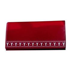 Wallet YVES SAINT LAURENT Red, burgundy