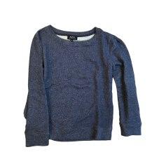 Sweat A.P.C. Bleu, bleu marine, bleu turquoise