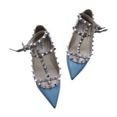 Ballerinas VALENTINO Rockstud Blau, marineblau, türkisblau