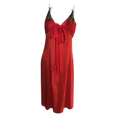 Midi Dress GUESS Red, burgundy