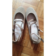 Ballet Flats CLAUDIE PIERLOT Beige, camel