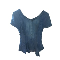 Top, tee-shirt THE KOOPLES Bleu, bleu marine, bleu turquoise