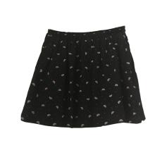 Mini Skirt DES PETITS HAUTS Black