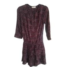 Mini-Kleid BA&SH Rot, bordeauxrot