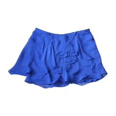 Jupe courte VANESSA BRUNO Bleu, bleu marine, bleu turquoise
