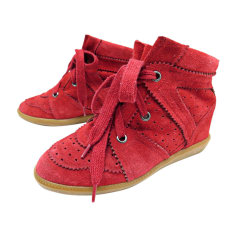 Sneakers ISABEL MARANT Pink, fuchsia, light pink