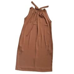 Midi Dress TARA JARMON Brown