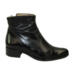 Cowboy Ankle Boots FREE LANCE Black