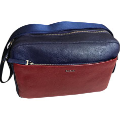 Schultertasche PAUL SMITH Bleu et rouge