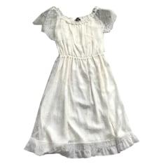 Robe mi-longue THE KOOPLES Blanc, blanc cassé, écru