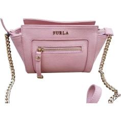 Leather Shoulder Bag FURLA Pink, fuchsia, light pink