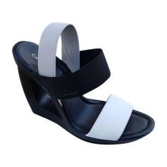 Sandales compensées CALVIN KLEIN Noir