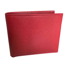 Wallet PAUL SMITH Red, burgundy