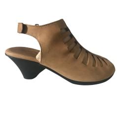 Sandales à talons ARCHE Beige, camel