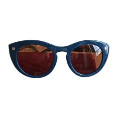 Sonnenbrille SALVATORE FERRAGAMO Blau, marineblau, türkisblau