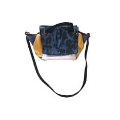 Leather Handbag JEROME DREYFUSS Multicolor
