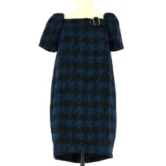 Midi Dress Blue, navy, turquoise