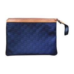 Pochette GUCCI Bleu, bleu marine, bleu turquoise