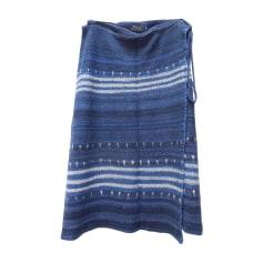 Jupe mi-longue RALPH LAUREN Bleu, bleu marine, bleu turquoise