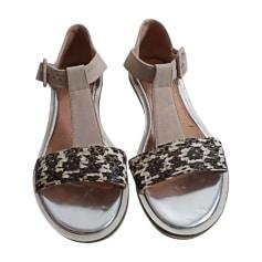 Flat Sandals ROBERT CLERGERIE Beige, camel