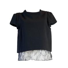 Top, t-shirt MAJE Nero