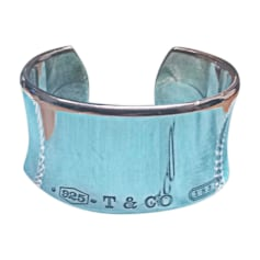 Armband TIFFANY & CO. Silberfarben, stahlfarben
