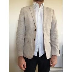 Veste de costume H&M Blanc, blanc cassé, écru
