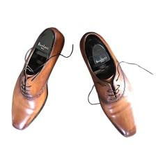 Chaussures à lacets BERLUTI Beige, camel