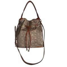 Non-Leather Shoulder Bag LANCEL Brown