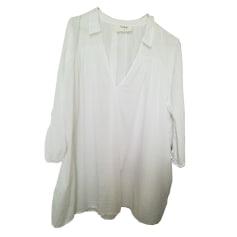 Hemd BA&SH Weiß, elfenbeinfarben